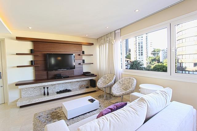 obývák v bytovém domě