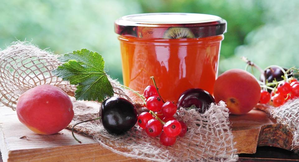 ovocný džem